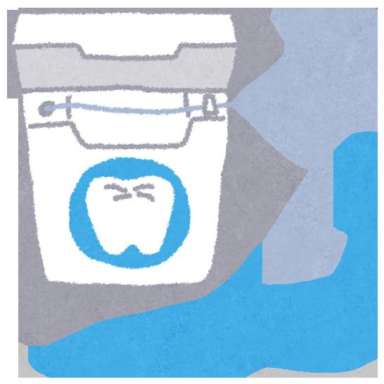 歯間ブラシとデンタルフロス