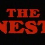遺伝子操作で進化した、人間を食い殺すゴキブリのホラー映画『ザ・ネスト』