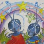 童話『ゴキブリえんそうかい』人間と仲良くなりたいゴキブリの苦悩が描かれている。