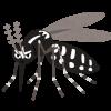 """ブラジルで勃発した「蚊との戦争」で日本が後方支援できる""""3本の矢""""は「蚊とりん、蚊帳、蚊取り網」"""