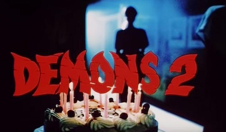 イタリアのホラー映画「デモンズ2」