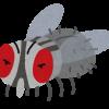 ハエたたき(蝿叩き)3つのルールを守れば害虫駆除率の数値を向上させられるかもしれない。