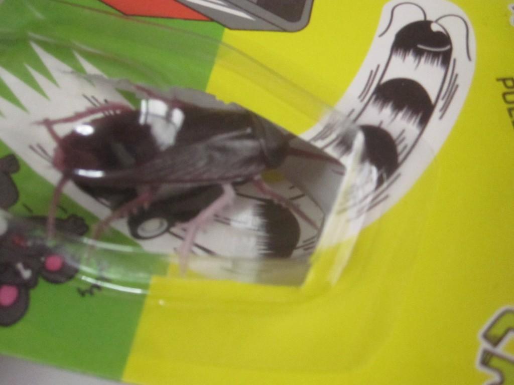 封印から解き放たれるゴキブリ・チョロQ!