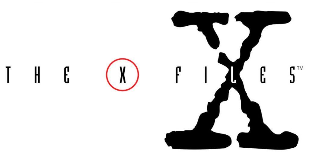 『(エックス)X-ファイル:The X-Files』のロゴ