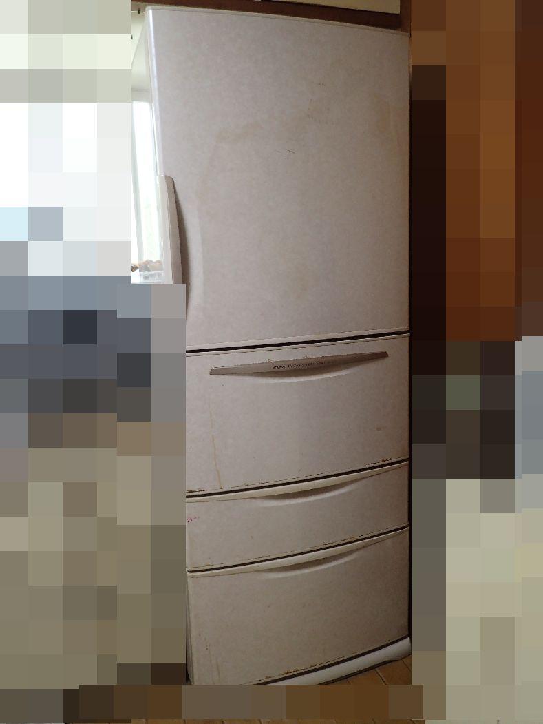 冷えが悪くなった古い冷蔵庫