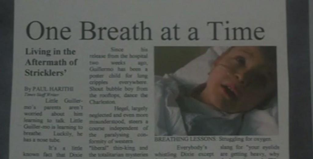 ストリックラー病に関する新聞記事