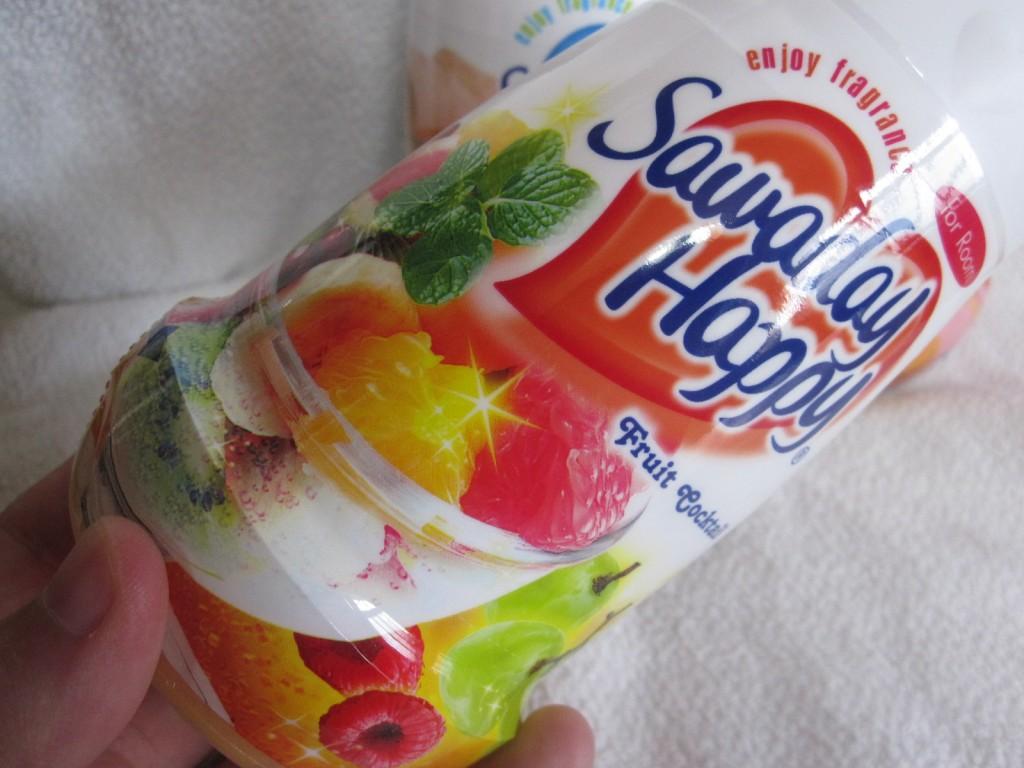 サワデーハッピー:フルーツカクテルの香り