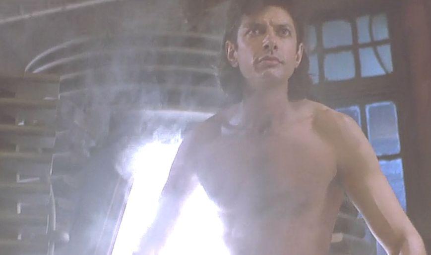 自身は何も知らぬままテレポート実験は終了しハエ男に生まれ変わったセル