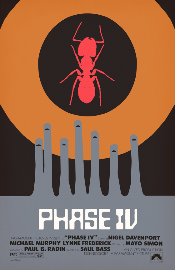 知能を備えた殺人アリVS人間との死闘を描いたフェイズⅣ
