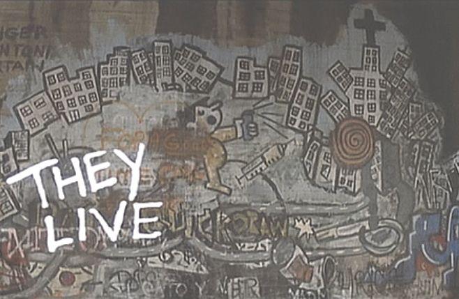 荒廃した街の象徴?壁の落書きグラフィティ