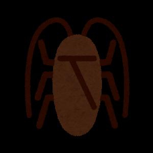 ゴキブリのイラスト・マーク